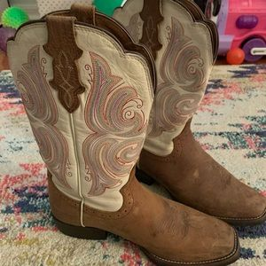 Justin Boots- Never Worn 7 1/2